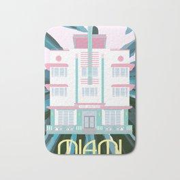 Miami Landmarks - McAlpin Bath Mat