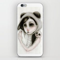 The inability to perceive with eyes notebook I iPhone & iPod Skin