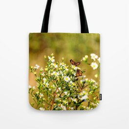 Double Flutter Tote Bag