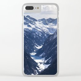 Zillertal - Penken Clear iPhone Case