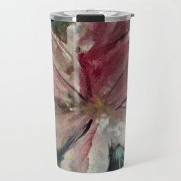Goddess Rhea's pink flower painting Travel Mug