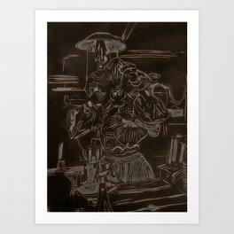 Bloomhead: Orchidea Art Print