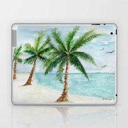 watercolor palm Laptop & iPad Skin
