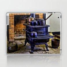 Wood Stove (Painted) Laptop & iPad Skin