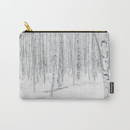 Swedish Birch Trees Carry-All Pouch