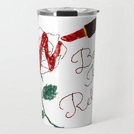 BeautyIsAReligion `Rose Lippy` Travel Mug