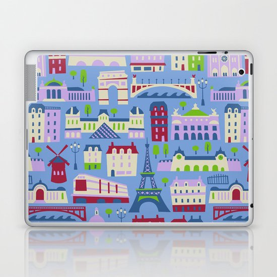 J'adore Paris Laptop & iPad Skin