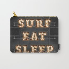 SURF - EAT - SLEEP Carry-All Pouch