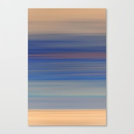 Inverted Sunset Blurs Canvas Print