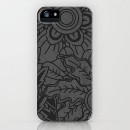 Floral Me Baby iPhone Case