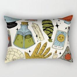 Fortune Teller Starter Pack Color Rectangular Pillow