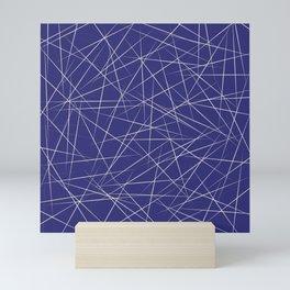 Diamond in the dark Mini Art Print