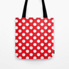 Lunares rojo Tote Bag