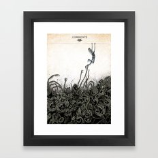 Dungeons Of The Internet Framed Art Print