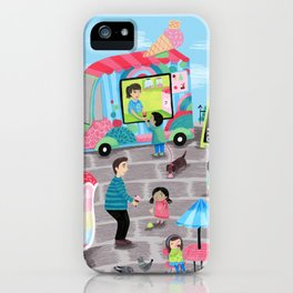 I Scream for Ice Cream iPhone Case