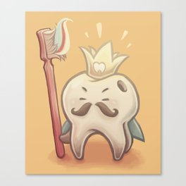 King Toof Canvas Print