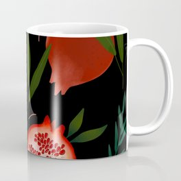 Pomegranate tropical pattern Coffee Mug