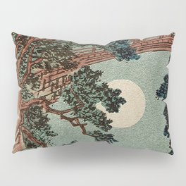 Saruhashi Bridge in Kai Province Japan Pillow Sham