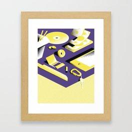Chillin - 2 Framed Art Print