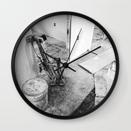 Renovation 3 Wall Clock