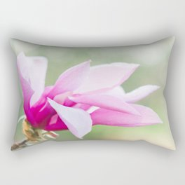 Magnolia Bloom Rectangular Pillow