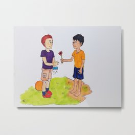 Children First Metal Print