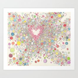 Love Intoxication Art Print