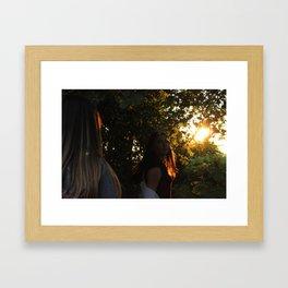 Protect Your Spirit Framed Art Print