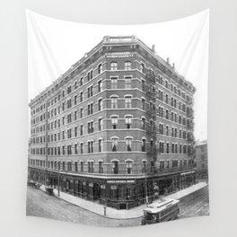 1899 Narragansett Hotel Providence, Rhode Island Wall Tapestry