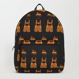 Oktoberfest guy. Lederhosen  Backpack