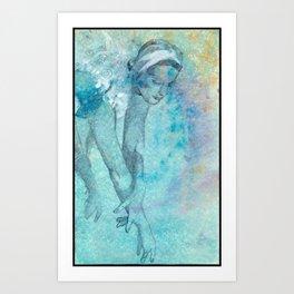 danza7 by nicolas Perruche Art Print