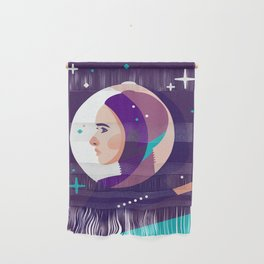 Space Girl Wall Hanging