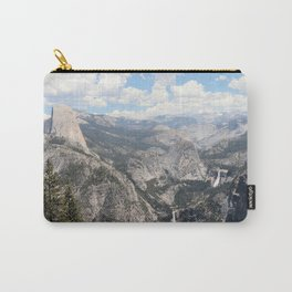 Half Dome, Nevada Fall & Vernal Fall in Yosemite National Park Carry-All Pouch