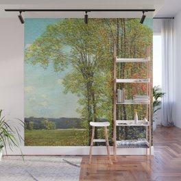 Classical Masterpiece 'Spring in Old Lyme, Connecticut' by Frederick Childe Hassam Wall Mural