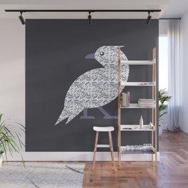 Pattern Bird Wall Mural