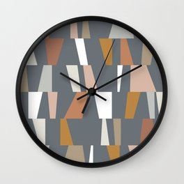 Neutral Geometric 02 Wall Clock