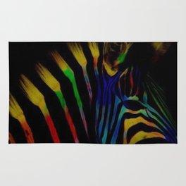TheRainbow Zebra Rug