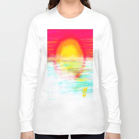 Sunset Sun Long Sleeve T-shirt