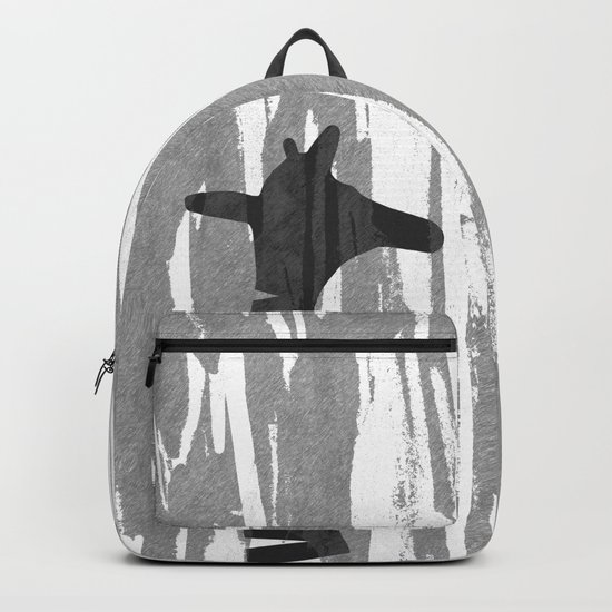 Unique Abstract Giraffe Family Backpack