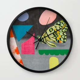 a bit for you, a bit for everyone Wall Clock