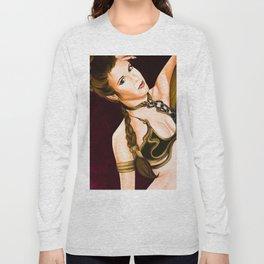 Slave Leia  Long Sleeve T-shirt
