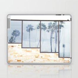 Rainy Days and Palm Tree Reflections Laptop & iPad Skin