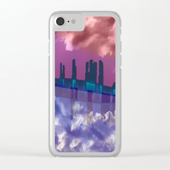 To Venus in a Ship / 28-10-16 Clear iPhone Case