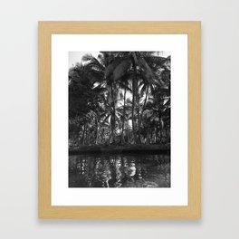 Damnoen Saduak Framed Art Print