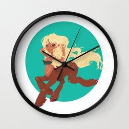 Sexy Centauress Wall Clock