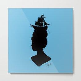 Lost at Sea Metal Print