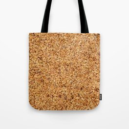 Golden linseed Tote Bag