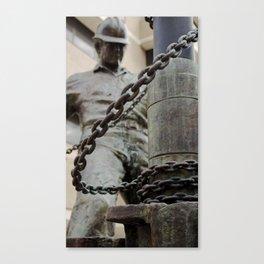 break the chain. Canvas Print
