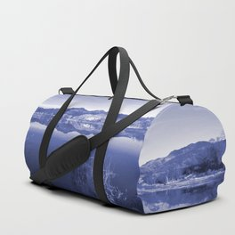 Surreal Landscape - Pahranagat NWR, Nevada Duffle Bag