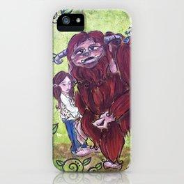 Sarah and Ludo iPhone Case